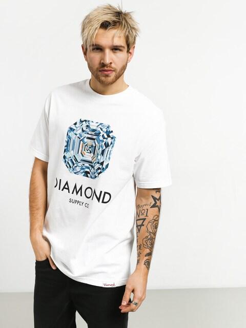 Diamond Supply Co. Asscher Cut T-shirt (white)