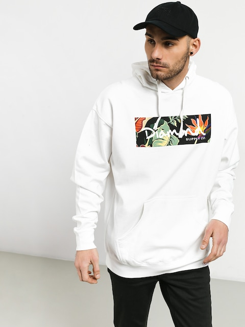 Diamond Supply Co. Paradise Box Logo Sweatshirt
