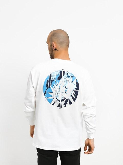 Polar Skate 69 Fill Logo Longsleeve (white)