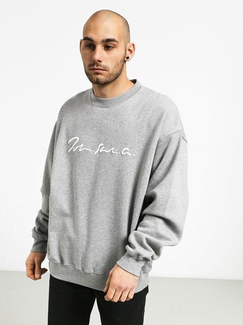 Polar Skate Signature Crewneck Sweatshirt (heather grey)
