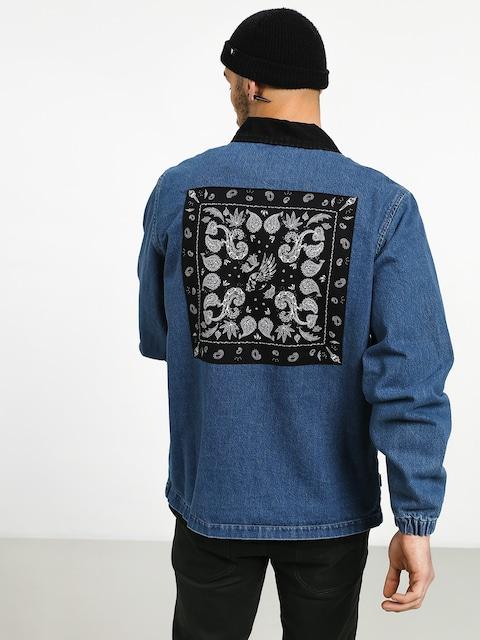 Turbokolor Denim Paisley Jacket (blue)