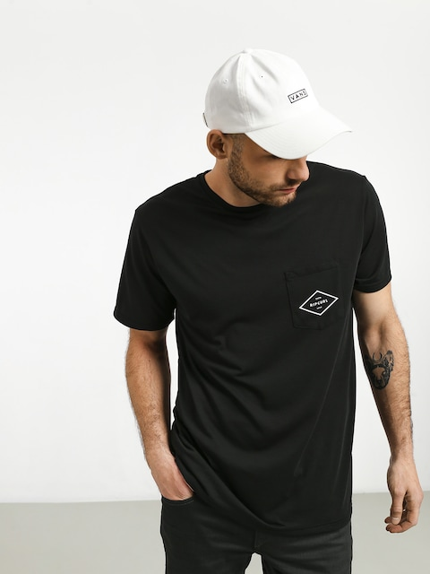 Rip Curl Essential Surfers Pocket T-shirt (black)