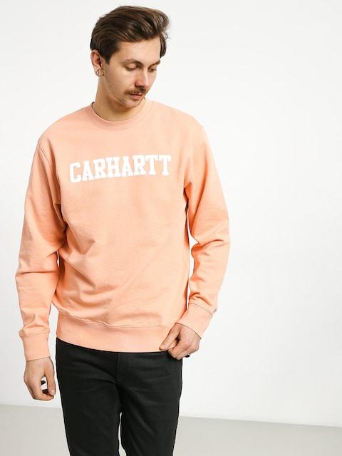 Carhartt WIP College Sweatshirt (peach/white)