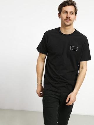 Levi'su00ae Graphic T-shirt (black core batwing black)