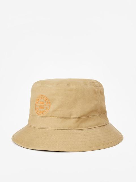 Brixton Oath Bucket Hat (khaki)