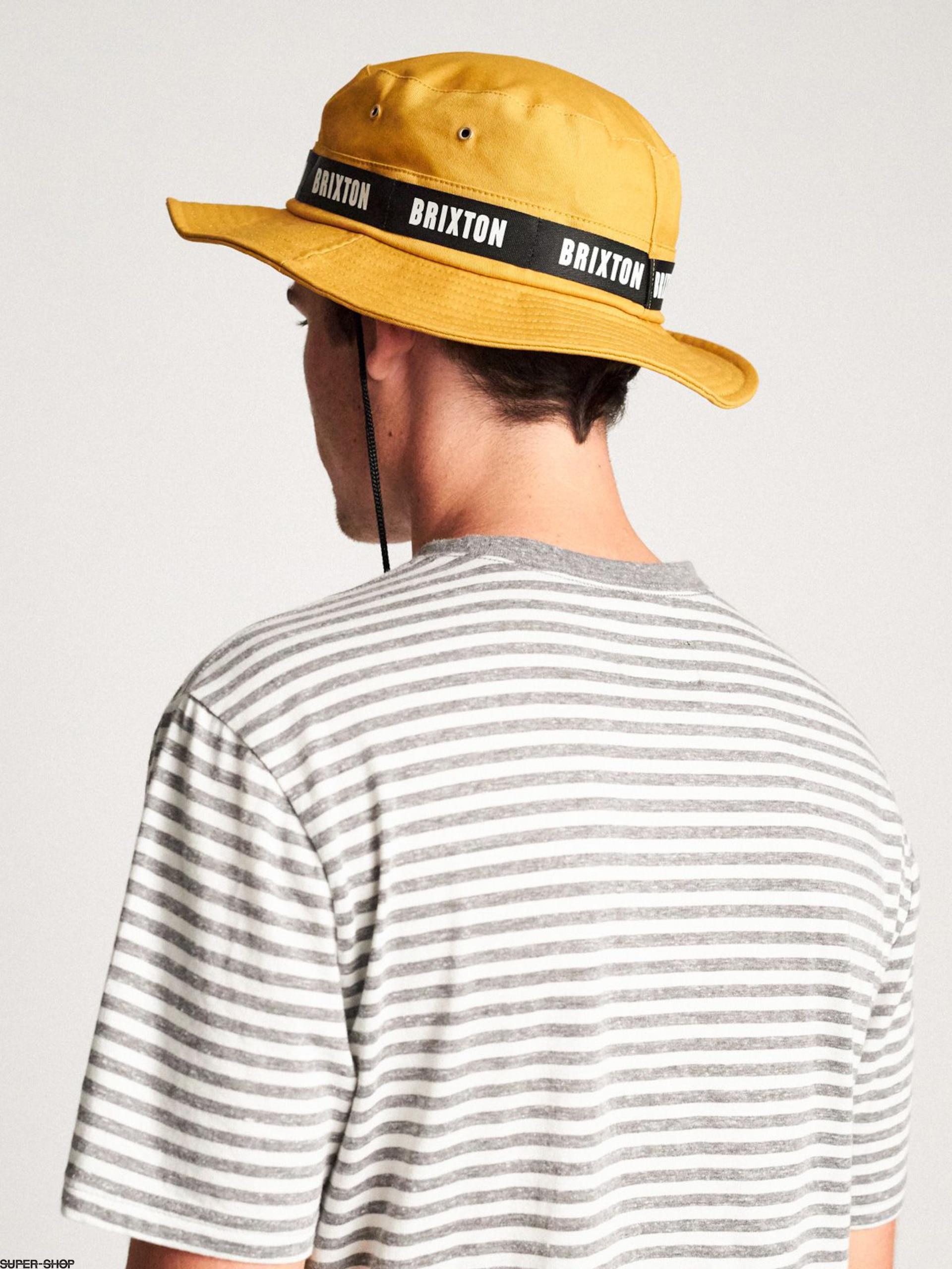 f4a3ee682bcb7 Brixton Ration II Bucket Hat Hat (topaz)