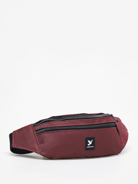Nervous Icon Bum bag (maroon)