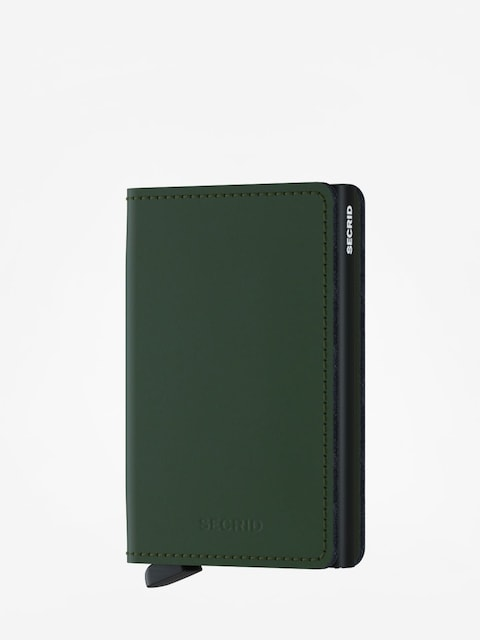 Secrid Slimwallet Matte Wallet (green/black)