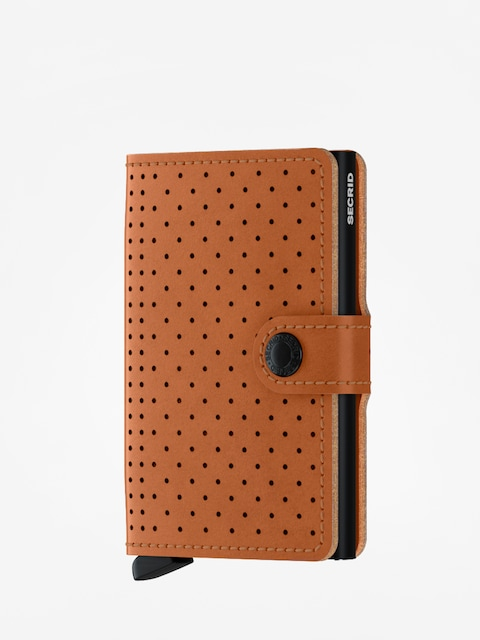 Secrid Miniwallet Perforated Wallet (cognac)