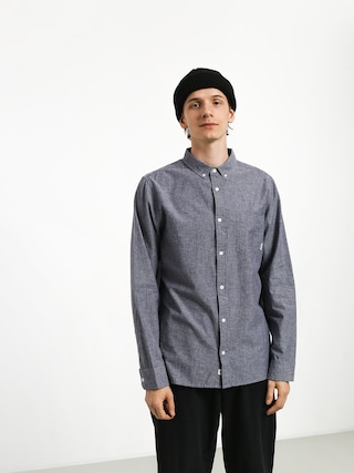 Element Greene Neps Ls Shirt (navy)