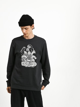 Element By Hand Crew Sweatshirt (off black)