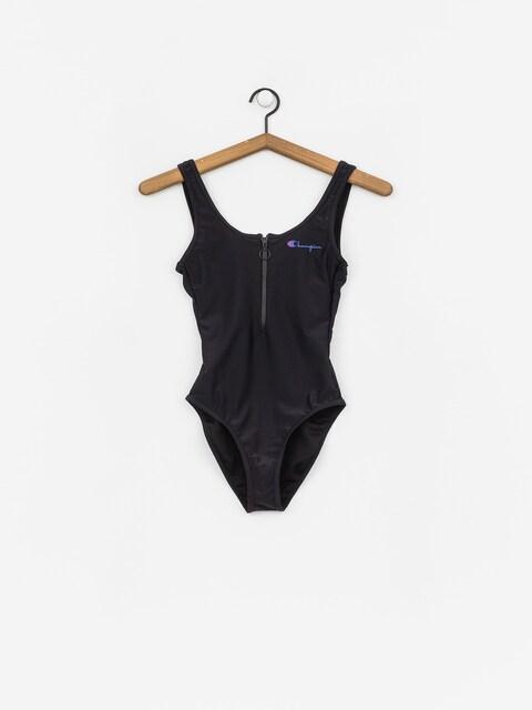Champion Swimming Suit Swimsuit Wmn (nbk)