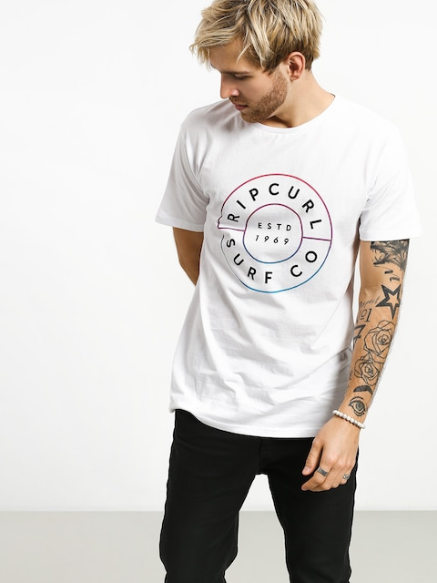 Rip Curl Neon Donut T-shirt (optical white)