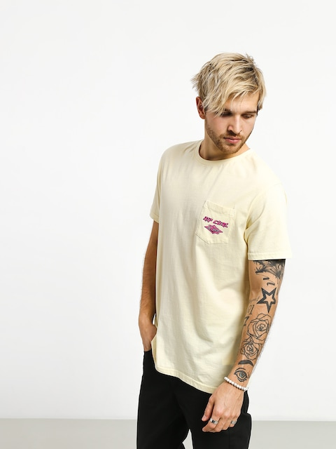 Rip Curl So Authentic T-shirt (pale yellow)