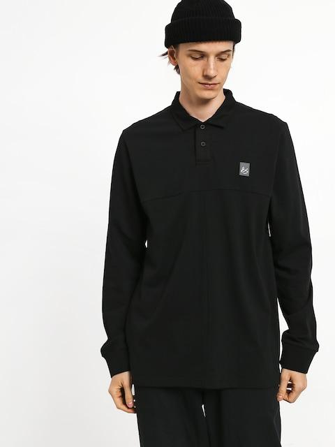 Es Split Polo t-shirt (black)