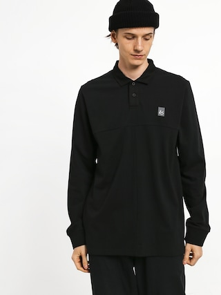 Es Split Polo t-shirt (black)
