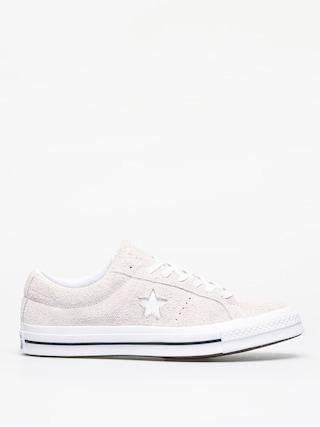 Converse One Star Ox Shoes (white/white/white)