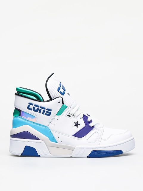 Converse Erx 260 Mid Shoes (white/court purple/bold jade)