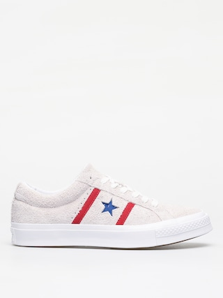 Converse One Star Academy Ox Shoes (white/enamel red/blue)