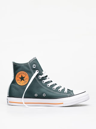 Converse Chuck Taylor All Star Hi Chucks (fir/orange rind/wh)
