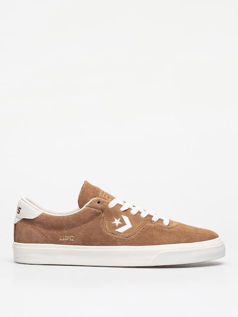 Converse Louie Lopez Ox Shoes (dark brown/beige)