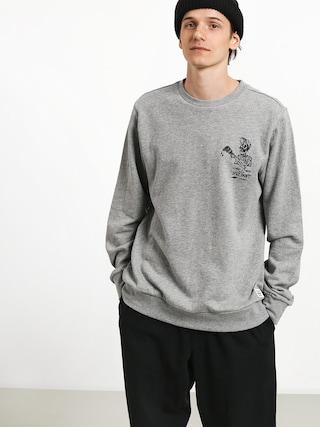 Element Spilt Crew Sweatshirt (grey heather)