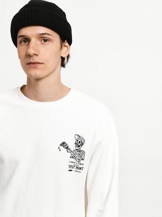 Element Spilt Crew Sweatshirt (off white)