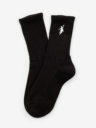 Polar Skate No Comply Socks (black/white)