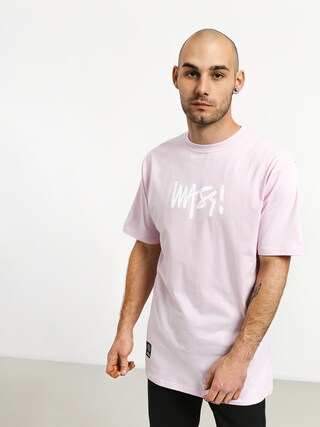 MassDnm Signature Medium Logo T-shirt (light pink)