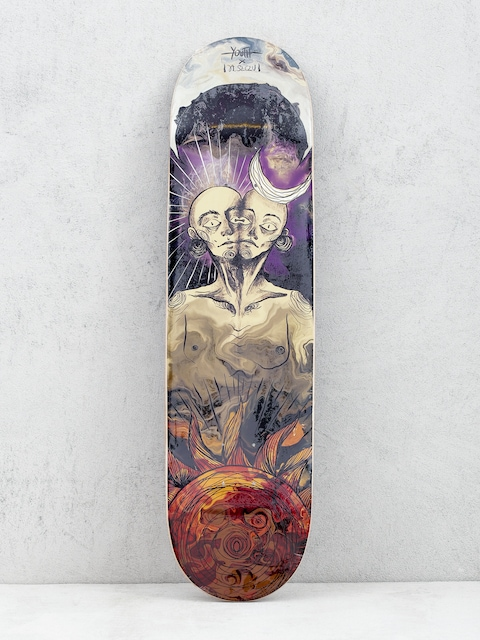 Youth Skateboards Twins Deck (purple/red)