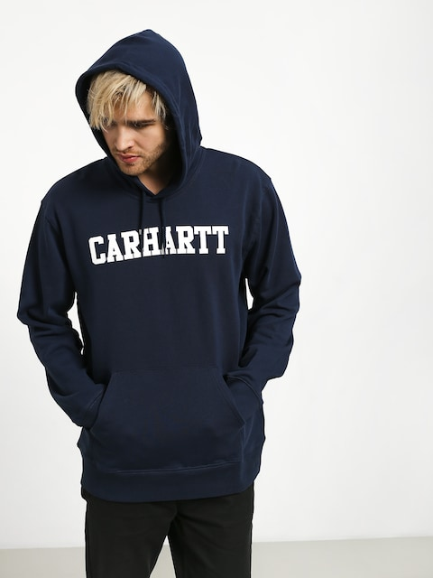 Carhartt WIP College HD Hoodie (blue/white)