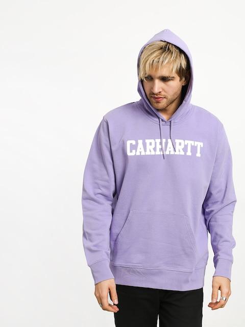Carhartt WIP College HD Hoodie (soft lavender/white)