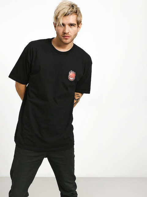 Spitfire Big Head Fill T-shirt (black/red)