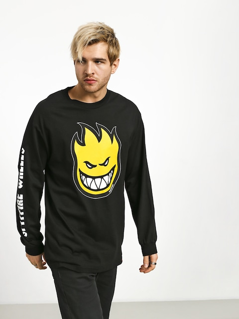 Spitfire Big Head Fill Hmbre Longsleeve (black/yellow)