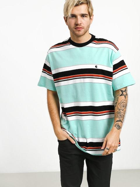 Carhartt WIP Ozark T-shirt (ozark stripe/light yucca/black)