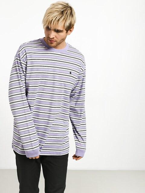 Carhartt WIP Huron Longsleeve (huron stripe/soft lavender/black)