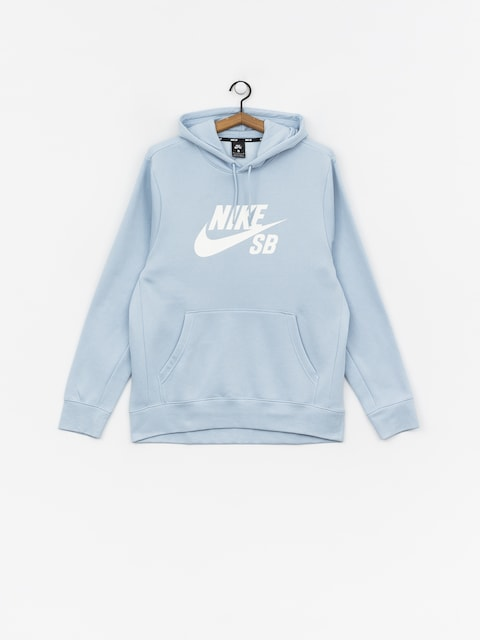 Nike SB Icon HD Hoodie (lt armory blue/white)