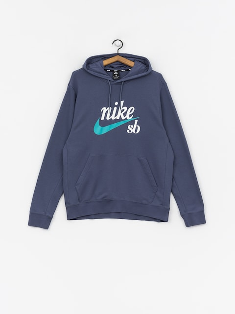 Nike SB Hoodie Washed Icon HD Hoodie (obsidian/cabana)