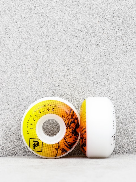 Primitive Dbz Goku Team Wheels (white/orange)