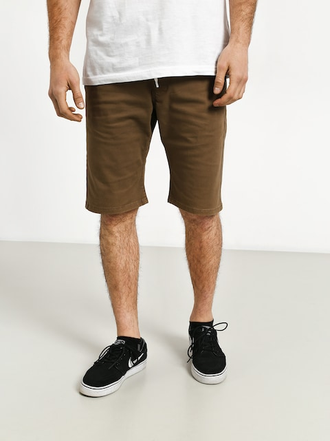 MassDnm Classics Straight Fit Shorts (beige)