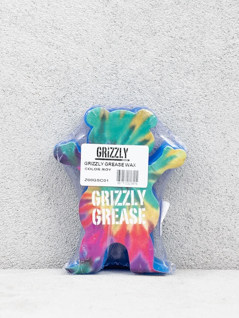 Grizzly Griptape Grizzly Grease Wax (royal blue)