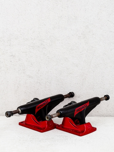 Tensor Switch Flick Alum Trucks (black/red)
