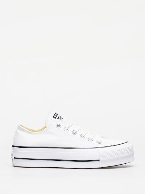 Converse Chuck Taylor All Star Lift Ox Chucks Wmn (white/black/white)