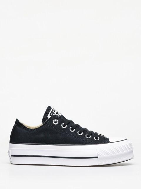 Converse Chuck Taylor All Star Lift Ox Chucks Wmn (black/white/white)