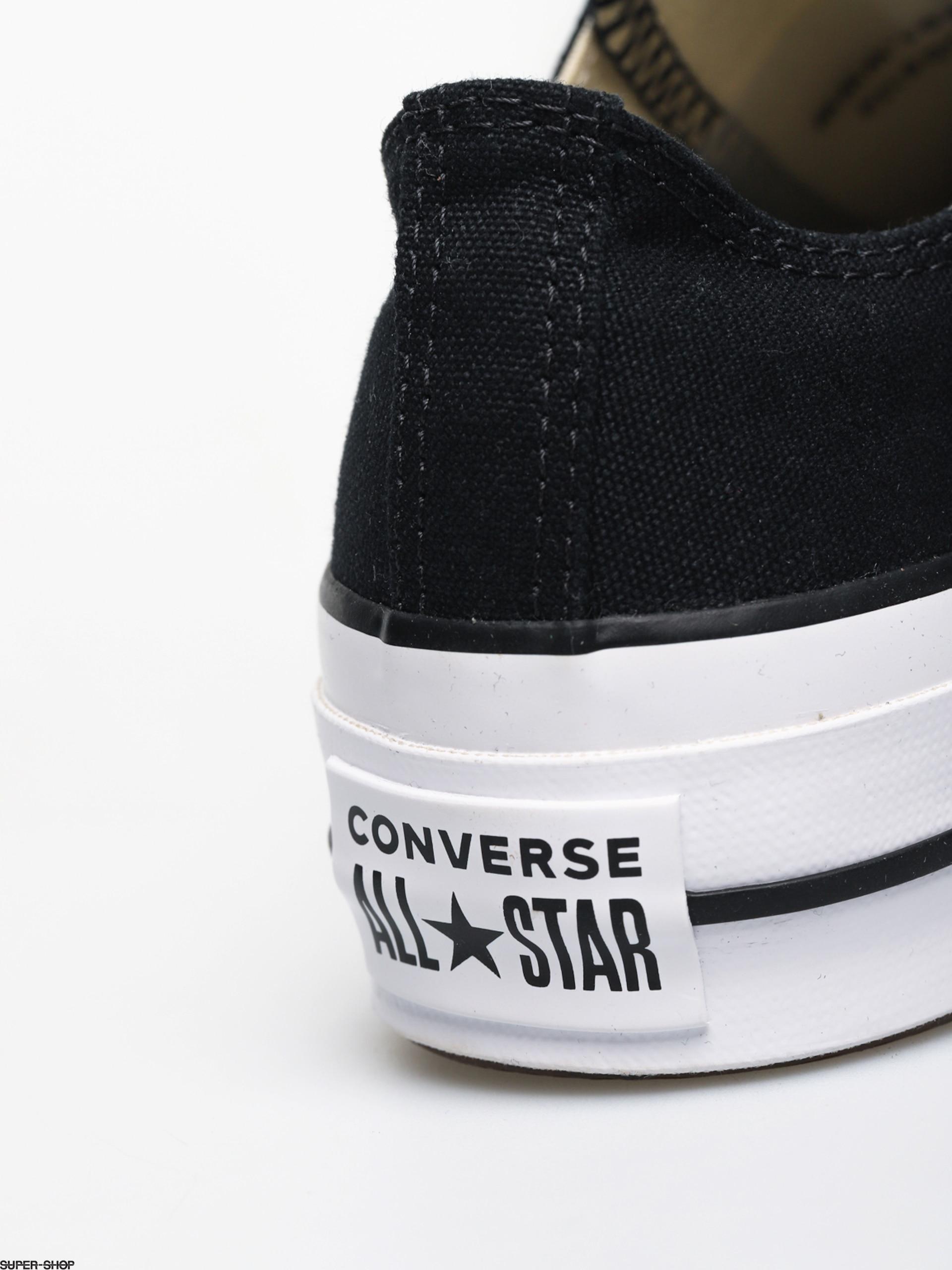 Converse Chuck Taylor All Star Lift Ox Chucks Wmn (blackwhitewhite)