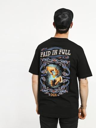 DGK Paid In Full T-shirt (black)