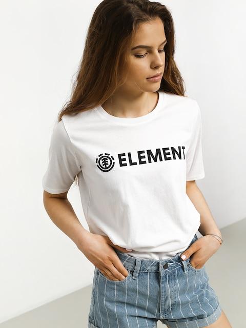 Element Logo Cr T-shirt Wmn
