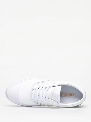 Supra Hammer Vtg Shoes (white white)