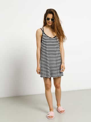 RVCA Vacay Dress Wmn (black/white)