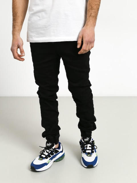 Diamante Wear Rm Jeans Jogger Pants (black jeans)
